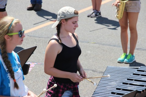 Tamaqua Raider Band Camp, Middle School Parking Lot, Tamaqua, 8-13-2015 (371)
