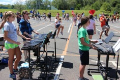 Tamaqua Raider Band Camp, Middle School Parking Lot, Tamaqua, 8-13-2015 (38)
