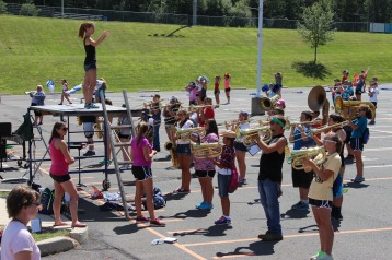 Tamaqua Raider Band Camp, Middle School Parking Lot, Tamaqua, 8-13-2015 (380)