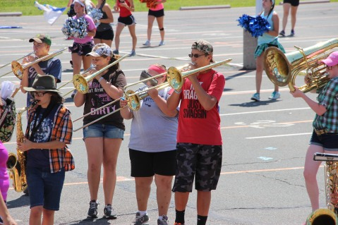 Tamaqua Raider Band Camp, Middle School Parking Lot, Tamaqua, 8-13-2015 (382)