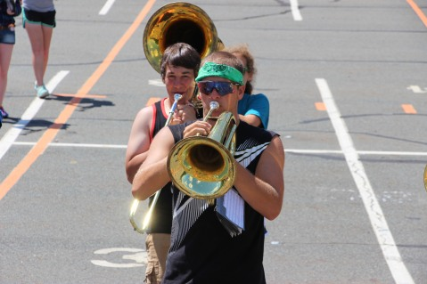 Tamaqua Raider Band Camp, Middle School Parking Lot, Tamaqua, 8-13-2015 (391)