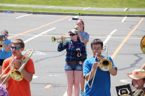 Tamaqua Raider Band Camp, Middle School Parking Lot, Tamaqua, 8-13-2015 (394)