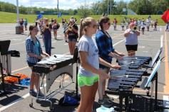 Tamaqua Raider Band Camp, Middle School Parking Lot, Tamaqua, 8-13-2015 (40)