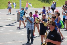Tamaqua Raider Band Camp, Middle School Parking Lot, Tamaqua, 8-13-2015 (401)