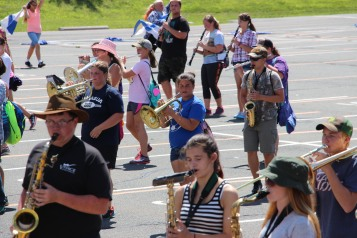 Tamaqua Raider Band Camp, Middle School Parking Lot, Tamaqua, 8-13-2015 (404)