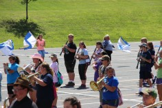 Tamaqua Raider Band Camp, Middle School Parking Lot, Tamaqua, 8-13-2015 (406)