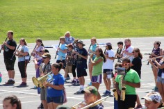 Tamaqua Raider Band Camp, Middle School Parking Lot, Tamaqua, 8-13-2015 (407)