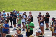 Tamaqua Raider Band Camp, Middle School Parking Lot, Tamaqua, 8-13-2015 (408)