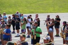 Tamaqua Raider Band Camp, Middle School Parking Lot, Tamaqua, 8-13-2015 (408)