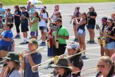 Tamaqua Raider Band Camp, Middle School Parking Lot, Tamaqua, 8-13-2015 (409)