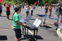 Tamaqua Raider Band Camp, Middle School Parking Lot, Tamaqua, 8-13-2015 (41)