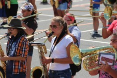 Tamaqua Raider Band Camp, Middle School Parking Lot, Tamaqua, 8-13-2015 (411)