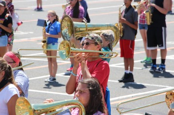 Tamaqua Raider Band Camp, Middle School Parking Lot, Tamaqua, 8-13-2015 (414)