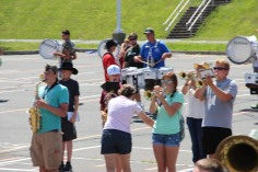 Tamaqua Raider Band Camp, Middle School Parking Lot, Tamaqua, 8-13-2015 (418)