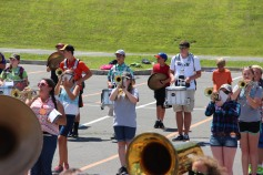 Tamaqua Raider Band Camp, Middle School Parking Lot, Tamaqua, 8-13-2015 (421)