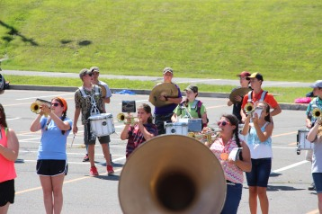 Tamaqua Raider Band Camp, Middle School Parking Lot, Tamaqua, 8-13-2015 (425)