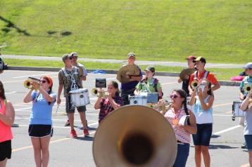 Tamaqua Raider Band Camp, Middle School Parking Lot, Tamaqua, 8-13-2015 (425)