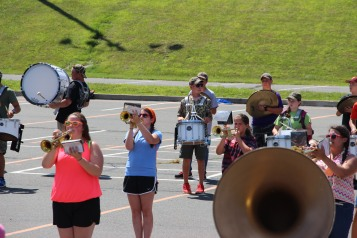 Tamaqua Raider Band Camp, Middle School Parking Lot, Tamaqua, 8-13-2015 (426)