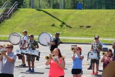 Tamaqua Raider Band Camp, Middle School Parking Lot, Tamaqua, 8-13-2015 (429)