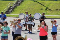 Tamaqua Raider Band Camp, Middle School Parking Lot, Tamaqua, 8-13-2015 (430)