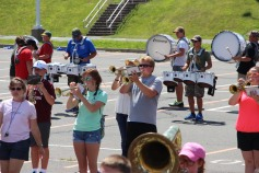Tamaqua Raider Band Camp, Middle School Parking Lot, Tamaqua, 8-13-2015 (431)