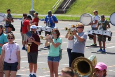 Tamaqua Raider Band Camp, Middle School Parking Lot, Tamaqua, 8-13-2015 (432)