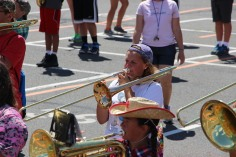 Tamaqua Raider Band Camp, Middle School Parking Lot, Tamaqua, 8-13-2015 (435)