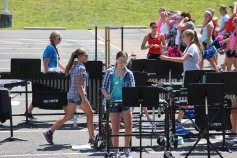 Tamaqua Raider Band Camp, Middle School Parking Lot, Tamaqua, 8-13-2015 (442)