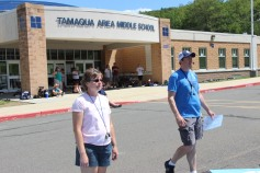 Tamaqua Raider Band Camp, Middle School Parking Lot, Tamaqua, 8-13-2015 (444)