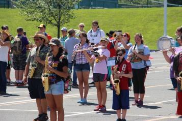 Tamaqua Raider Band Camp, Middle School Parking Lot, Tamaqua, 8-13-2015 (451)