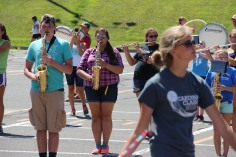 Tamaqua Raider Band Camp, Middle School Parking Lot, Tamaqua, 8-13-2015 (453)