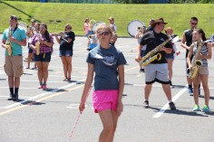 Tamaqua Raider Band Camp, Middle School Parking Lot, Tamaqua, 8-13-2015 (454)
