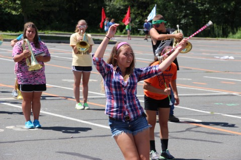 Tamaqua Raider Band Camp, Middle School Parking Lot, Tamaqua, 8-13-2015 (460)