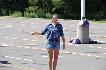 Tamaqua Raider Band Camp, Middle School Parking Lot, Tamaqua, 8-13-2015 (461)
