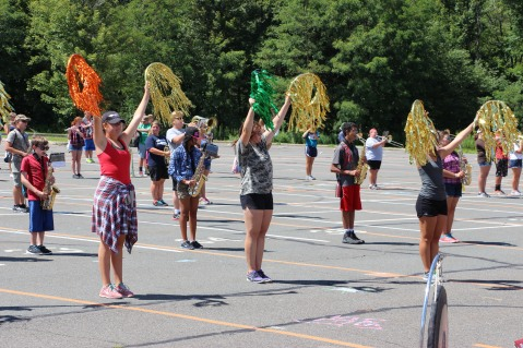 Tamaqua Raider Band Camp, Middle School Parking Lot, Tamaqua, 8-13-2015 (485)