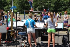 Tamaqua Raider Band Camp, Middle School Parking Lot, Tamaqua, 8-13-2015 (488)