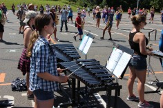 Tamaqua Raider Band Camp, Middle School Parking Lot, Tamaqua, 8-13-2015 (491)