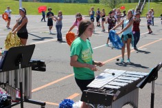 Tamaqua Raider Band Camp, Middle School Parking Lot, Tamaqua, 8-13-2015 (492)