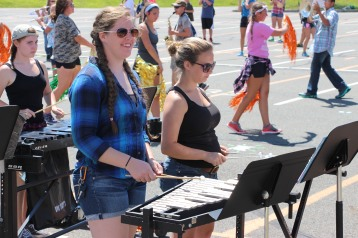 Tamaqua Raider Band Camp, Middle School Parking Lot, Tamaqua, 8-13-2015 (494)