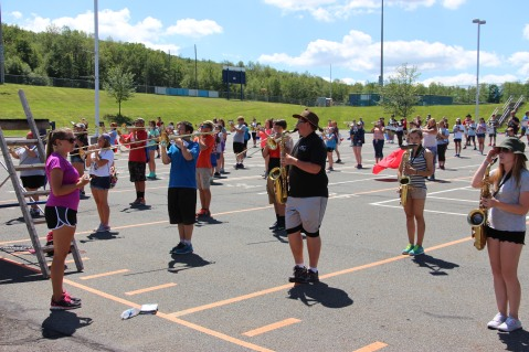 Tamaqua Raider Band Camp, Middle School Parking Lot, Tamaqua, 8-13-2015 (55)