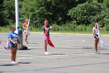 Tamaqua Raider Band Camp, Middle School Parking Lot, Tamaqua, 8-13-2015 (68)