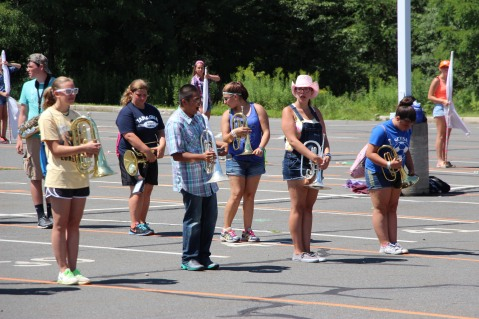 Tamaqua Raider Band Camp, Middle School Parking Lot, Tamaqua, 8-13-2015 (69)
