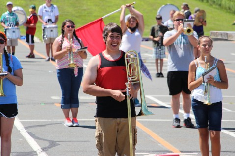 Tamaqua Raider Band Camp, Middle School Parking Lot, Tamaqua, 8-13-2015 (77)