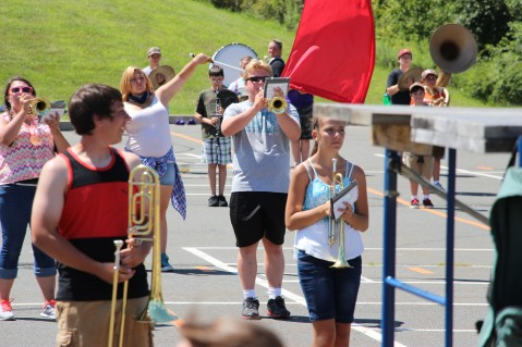 Tamaqua Raider Band Camp, Middle School Parking Lot, Tamaqua, 8-13-2015 (80)