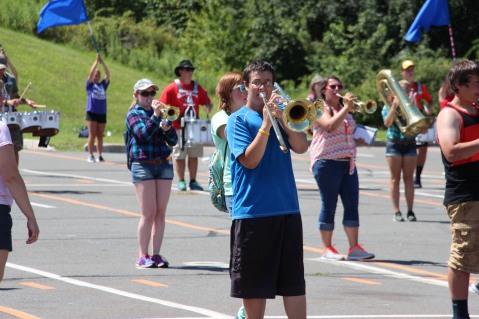 Tamaqua Raider Band Camp, Middle School Parking Lot, Tamaqua, 8-13-2015 (88)