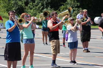 Tamaqua Raider Band Camp, Middle School Parking Lot, Tamaqua, 8-13-2015 (89)
