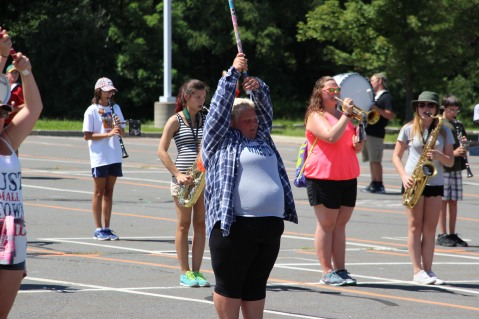 Tamaqua Raider Band Camp, Middle School Parking Lot, Tamaqua, 8-13-2015 (91)