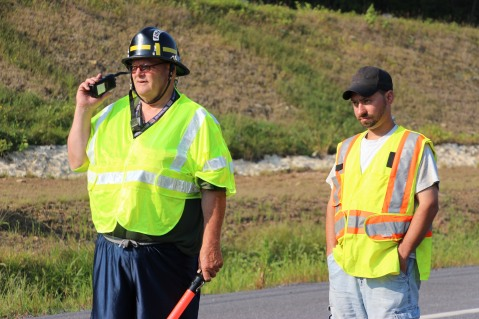 Two Vehicle Accident, S Turn, SR54, Nesquehoning, 8-17-2015 (101)