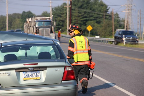 Two Vehicle Accident, S Turn, SR54, Nesquehoning, 8-17-2015 (33)