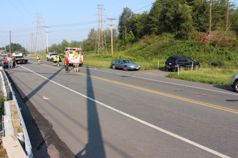 Two Vehicle Accident, S Turn, SR54, Nesquehoning, 8-17-2015 (76)